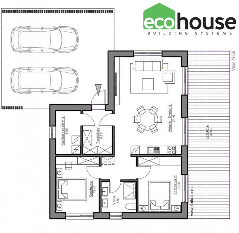 ECO mini-1 - Floor plan